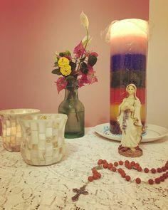 """""""Em meu coração Maria acende sua luz e me aponta o caminho.""""  by daniellefmarques"""