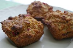 Cranberry Oatmeal Muffins Recipe - Genius Kitchen