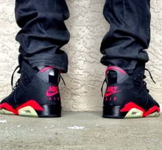 The-Daily-Photo-Air-Jordan-6-Reverse-Infrared Best Sneakers, Sneakers Nike, Jordans 6, Air Jordan Vi, Hype Shoes, All About Shoes, Daily Photo, Dope Outfits, Jordan Retro