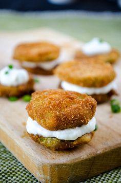 Fried Zucchini Chips | giverecipe.com | #zucchini #snack #chips #appetizer #summer