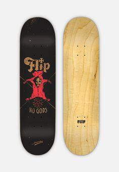 Contino x Flip Skateboards by Jon Contino, via Behance