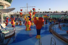 Get in some play time on Indy. #H2OZone #IndependenceoftheSeas