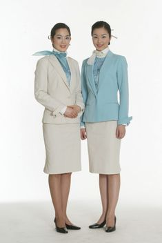 Korean Air Flight Attendant #Uniform #CabinCrew #airline