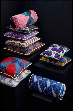 wax in deco African Interior Design, African Design, African Style, African Art, African Fashion, African Textiles, African Fabric, African Prints, African Shop