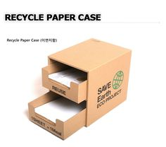1 x reusable paper box / Save Earth eco project / by Twomysterybox Gift Box Packaging, Packaging Design, Reuse Recycle, Reduce Reuse, Custom Cardboard Boxes, Paper Case, Carton Box, Cardboard Furniture, Name Cards
