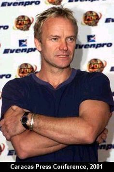 Sting- | He's around 49 in this picture! How on Earth is that possible?!