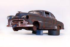 51 Bel Air Barn Find Junkyard Weathered Chose The License Plate 1 25