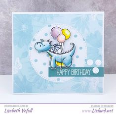 MFT Card Challenges: You've Been Spotted - April 17, 2018 | happy birthday | Liz Vefall