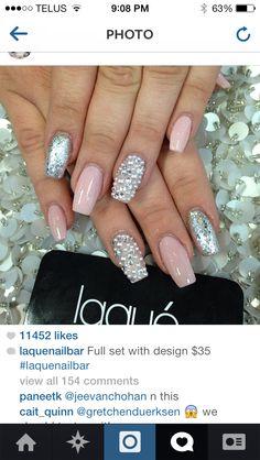 Coffin nails. Kinda like this shape
