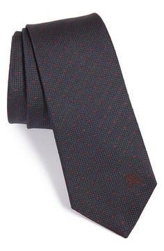 Burberry London 'Manston' Dot Silk Tie available at #Nordstrom