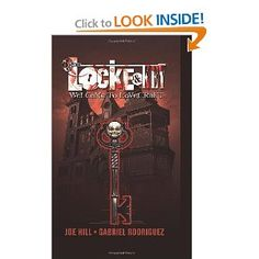 Locke & Key, Vol. Welcome to Lovecraft Graphic novel. Welcome, Book Worms, Books To Read, Novels, Key, Recommended Reading, Relentless, Mansion, Gabriel