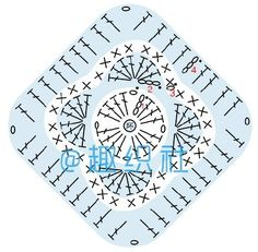 Free Crochet Doily Patterns, Crochet Coaster Pattern, Christmas Crochet Patterns, Crochet Diagram, Hand Embroidery Patterns, Stitch Patterns, Crochet Hippo, Crochet Elephant, Crochet Dolls