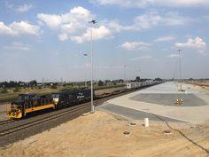 Testowanie nowego #intermodal #containers #terminal