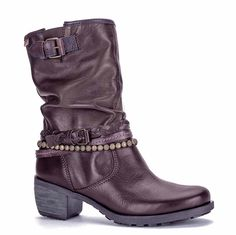 Pikolinos 838-8080 (Le Dress) Ladies Plait And Buckle Detail Mid Calf Boot - Olmo - Robin Elt Shoes  http://www.robineltshoes.co.uk/store/search/brand/Pikolinos-Ladies/ #Autumn #Winter #AW14 #2014 #2015