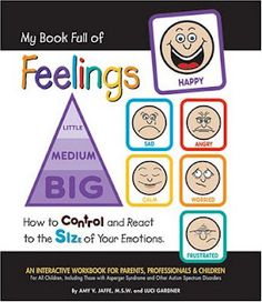 Books That Heal Kids: Book Review: My Book Full of Feelings - How to Control and React to the Size of Your Emotions