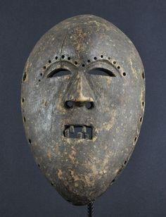 Masque Kumu Komo Mask African ART Africain Congo Belge Tribal Kongo Masker | eBay
