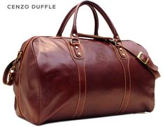 Cenzo Leather Duffle - Love the design, not sure I like this type of leather.