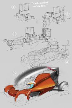 A 3D-Printed Car That Assembles Itself   The Creators Project