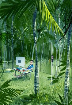 The Jungle Room by https://www.deviantart.com/pascalcampion on @DeviantArt
