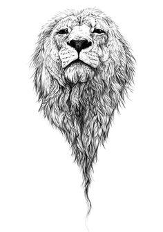 i love lion tattoos