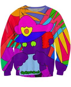 Cops and Weed Crewneck Sweatshirt | Mopixiestore.com