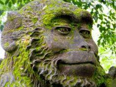 Stone monkey from Bali