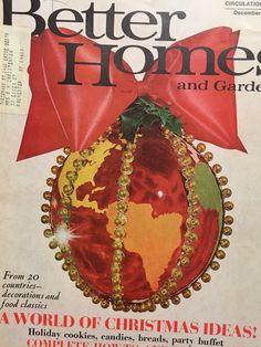 Better Home And Gardens Christmas Ideas Vintage better homes and gardens christmas ideas 1962 magazine vintage better homes and gardens christmas ideas 1962 magazine vintage holiday pinterest ideas magazine gardens and vintage workwithnaturefo