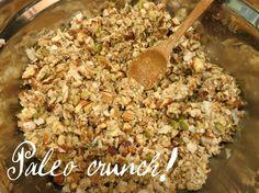 paleo crunch Archives - On Tap for Today Paleo Treats, Healthy Snacks, Healthy Eating, Paleo Food, Vegetarian Recipes Easy, Healthy Recipes, Free Recipes, Paleo Cereal, Paleo Breakfast
