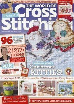 Журналы по вязанию и рукоделию: The World of Cross Stitching №221 2014