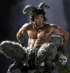 The Greek god Pan - fertility and sex god