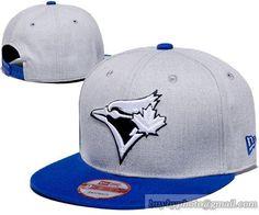 Toronto Blue Jays Heather Grey Snapback Hats