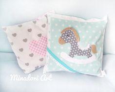 Pony. Pillow. Nursery.