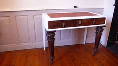 Office Desk Writers desk upcycled table office furniture