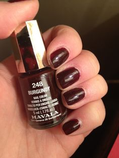 Mavala  Burgundy | #EssentialBeautySwatches | BeautyBay.com