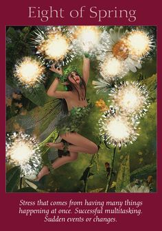 Oracle Card Eight of Spring | Doreen Virtue | official Angel Therapy Web site