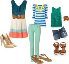 cute casual outfits perfect for summer