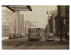 Nostrand Ave & Myrtle Ave 1950 Bedford-Stuyvesant Brooklyn NY