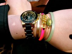 The perfect wrist stack @Taylor Smith