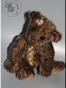 Rose By Liesbeth de Bruijn - Bear Pile Teddy Bear, Artist, Handmade, Animals, Hand Made, Animales, Animaux, Teddy Bears, Craft