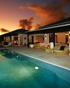 Arrive in Anguilla (aka paradise.)
