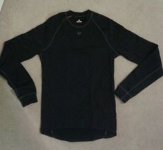 Mens #pearl izumi thermal long sleeve baselayer top cycling #running #black -medi,  View more on the LINK: http://www.zeppy.io/product/gb/2/121927812162/