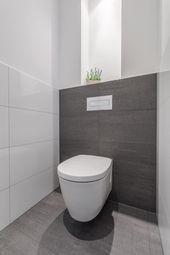 Home Decor Recibidor .Home Decor Recibidor Small Downstairs Toilet, Small Toilet Room, Downstairs Bathroom, Small Bathroom, Bathroom Ideas, Wc Design, Toilet Tiles Design, Modern Toilet, French Home Decor