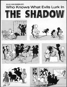 The Shadow Knows! 03 Sergio Aragones showing how simple it is to make us laugh - MAD Magazine 1960's