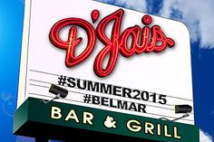 Sign for D'Jais Bar & Grill - Courtesy of D'Jais Belmar The Original Jersey Shore Dance Club via Facebook