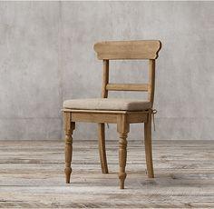 19Th C. English Schoolhouse Side Chair