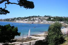 View of St Mawes, Cornwall
