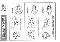 collars: Coquille and flounces /China/ - SSvetLanaV - Picasa Webalbums