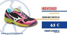 Llevar unas #zapatillas #Mizuno es toda una experiencia, pero si además calzas unas #Twister3 Women, la sensación se multiplica. Calidad, amortiguación, diseño y precio. Una cualidades excepcionales. ¡Hazte con ellas! Más información: www.puntofuerte.es