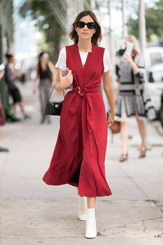 Fashion girls at the Spring/Summer 2017 collections at New York Fashion week…