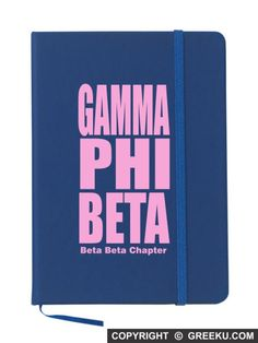 Gamma Phi Beta Impact Notebook